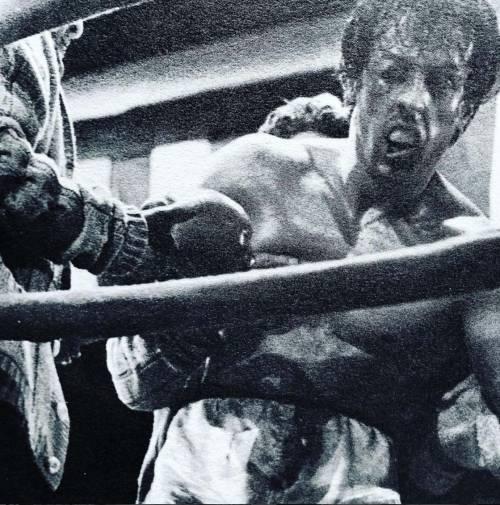 Sylvester Stallone nelle foto di scena di Rocky 8