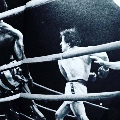 Sylvester Stallone nelle foto di scena di Rocky 10