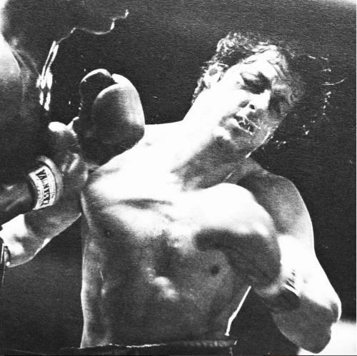 Sylvester Stallone nelle foto di scena di Rocky 11