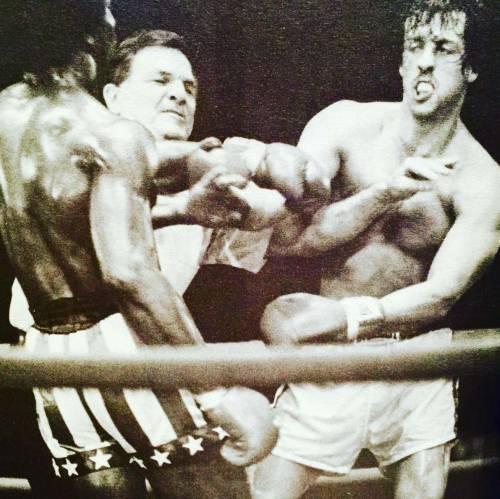 Sylvester Stallone nelle foto di scena di Rocky 14