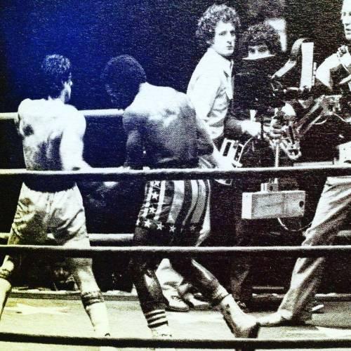 Sylvester Stallone nelle foto di scena di Rocky 12