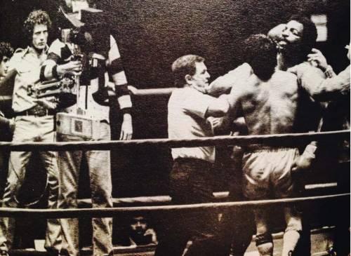Sylvester Stallone nelle foto di scena di Rocky 15