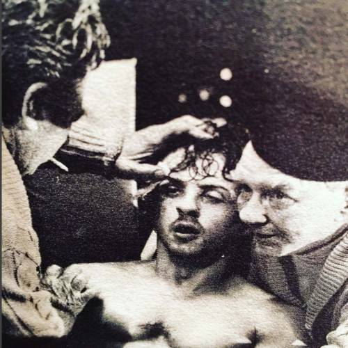 Sylvester Stallone nelle foto di scena di Rocky 18