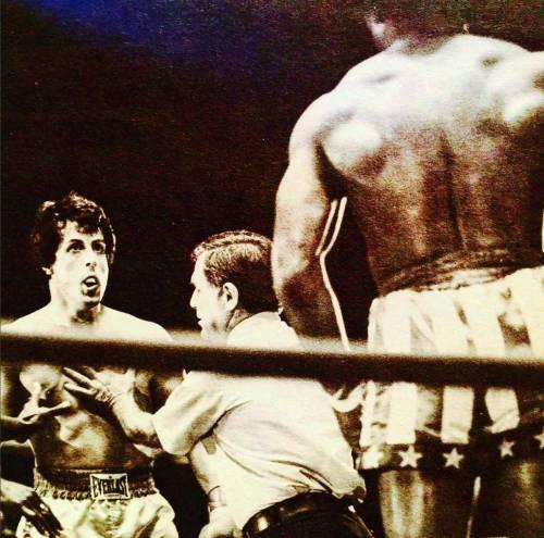 Sylvester Stallone nelle foto di scena di Rocky 21