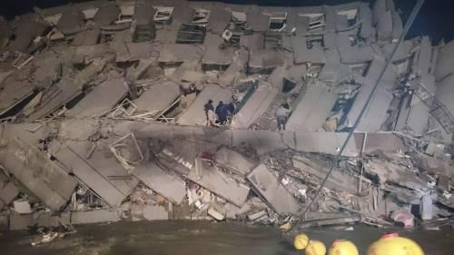 Terremoto a Taiwan, edifici crollati 5