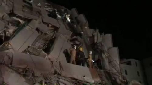 Terremoto a Taiwan, edifici crollati 4