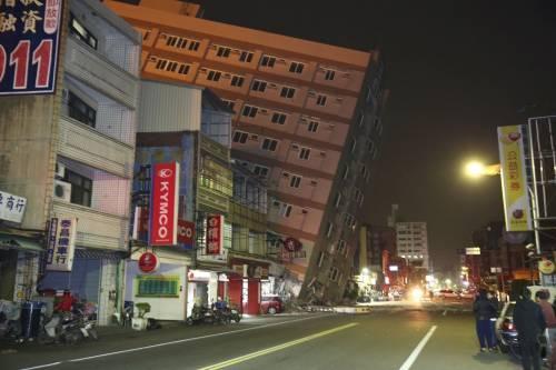 Terremoto a Taiwan, edifici crollati 3