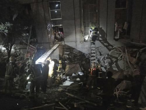 Terremoto a Taiwan, edifici crollati 6