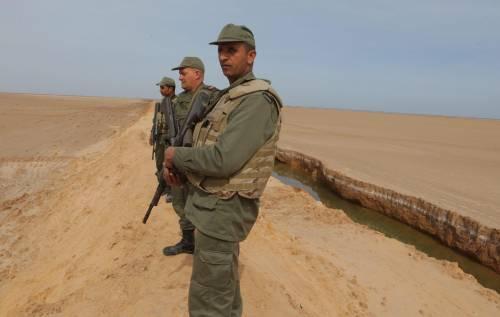 Un muro tra Tunisia e Libia contro la minaccia del jihad 7