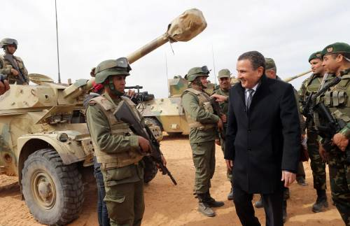 Un muro tra Tunisia e Libia contro la minaccia del jihad 6