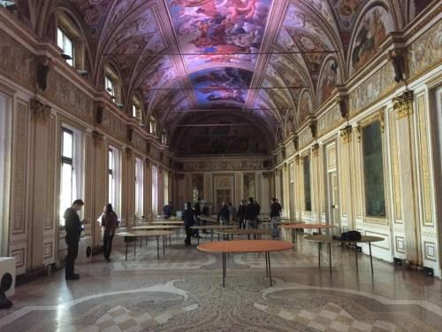 Emma Marcegaglia festeggia i cinquant'anni nel Palazzo ducale di Mantova