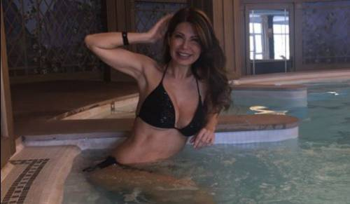 Susanna Messaggio festeggia i 53 anni 2