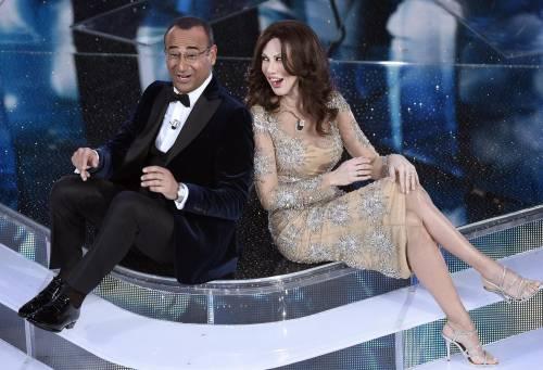 Sanremo 2016: gli abiti della prima serata 40
