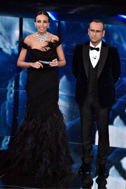 Sanremo 2016: gli abiti della prima serata 51