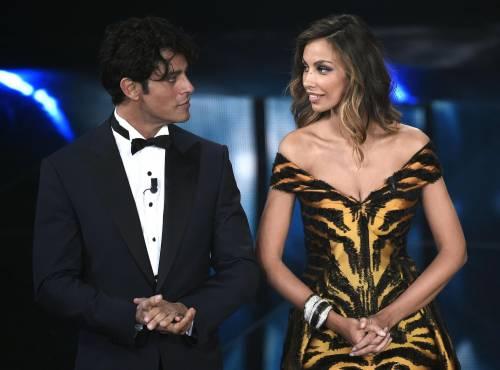 Sanremo 2016: gli abiti della prima serata 66