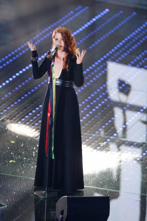 Sanremo 2016: gli abiti della prima serata 64