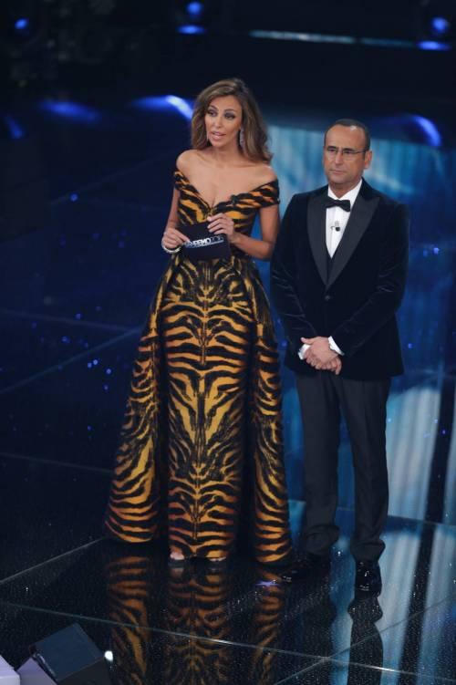 Sanremo 2016: gli abiti della prima serata 72