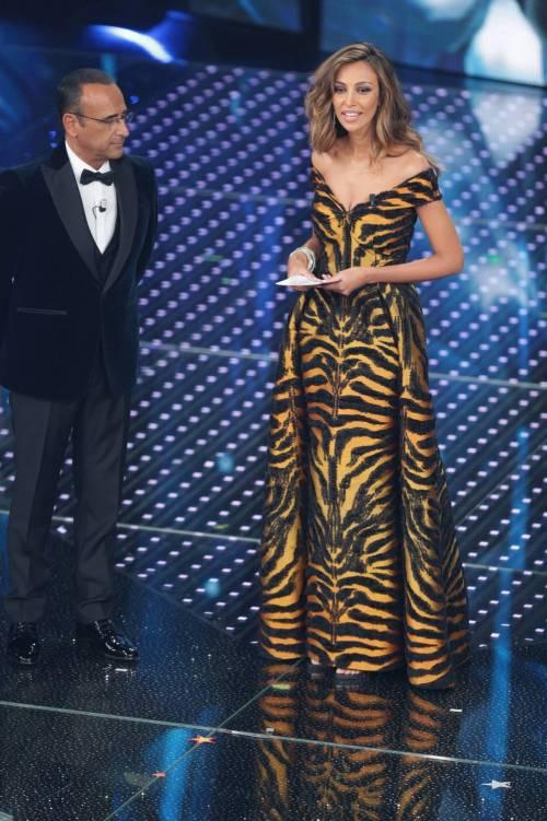 Sanremo 2016: gli abiti della prima serata 77