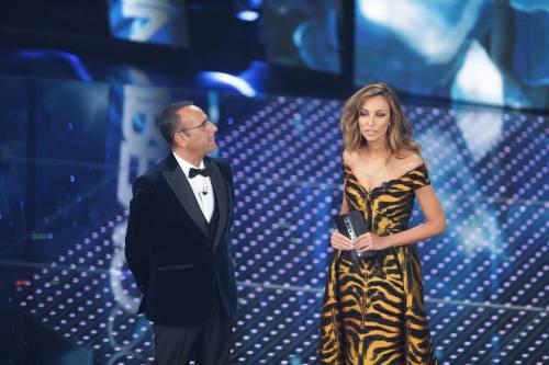 Sanremo 2016: gli abiti della prima serata 78