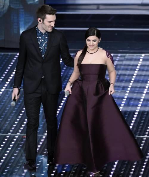 Sanremo 2016: gli abiti della prima serata 87