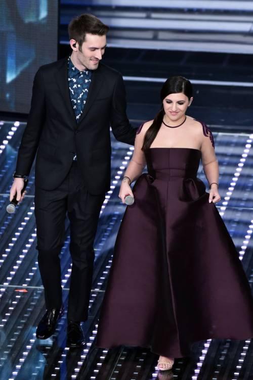 Sanremo 2016: gli abiti della prima serata 89