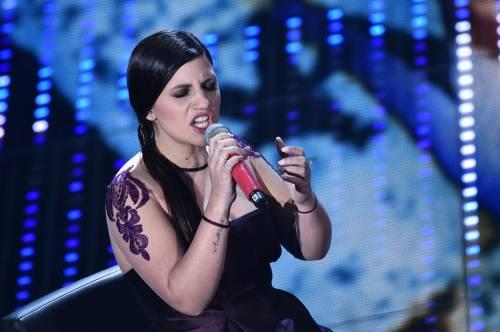 Sanremo 2016: gli abiti della prima serata 91