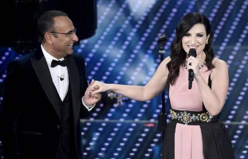 Sanremo 2016: gli abiti della prima serata 93