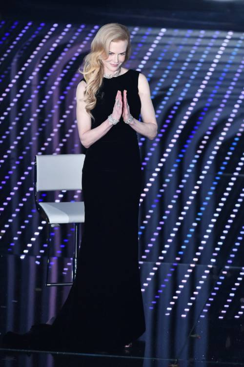 Nicole Kidman a Sanremo 5