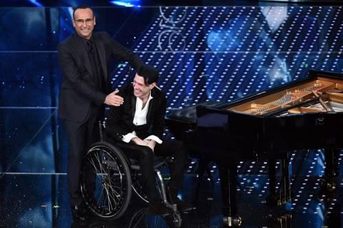 Ezio Bosso, il pianista che ha commosso Sanremo 2016. Le foto 4