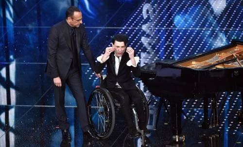 Ezio Bosso, il pianista che ha commosso Sanremo 2016. Le foto 11