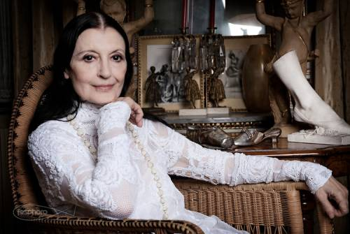 Carla Fracci commenta l'imitazione di Virginia Raffaele sul palco di Sanremo