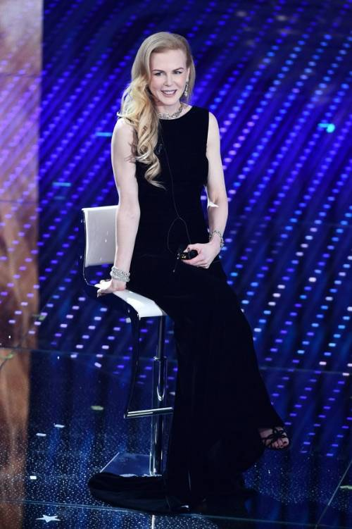 Nicole Kidman e Ellie Goulding a Sanremo 2016 6