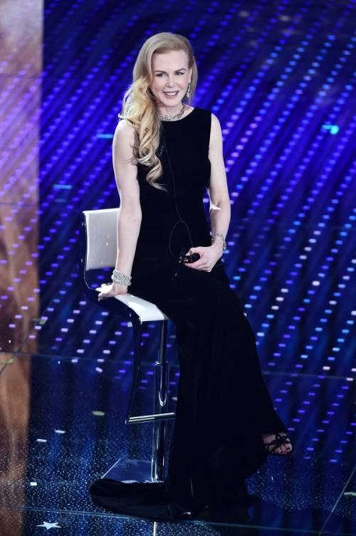 Nicole Kidman ed Ellie Goulding, Sanremo è rosa