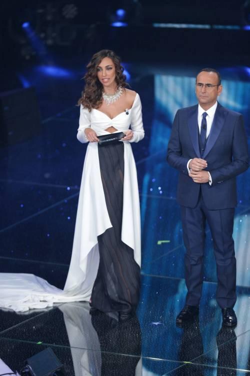 Madalina Ghenea, i sexy abiti a Sanremo 2016 4