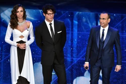 Madalina Ghenea, i sexy abiti a Sanremo 2016 8