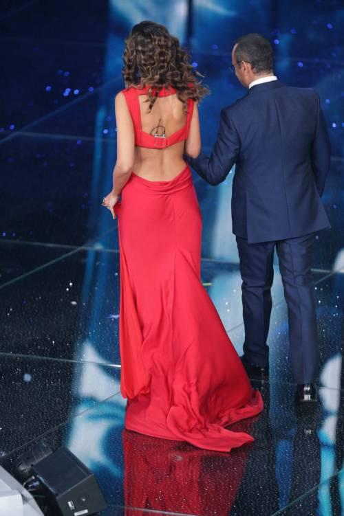 Madalina Ghenea, i sexy abiti a Sanremo 2016 7