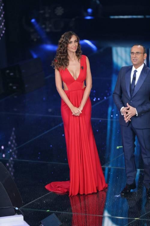 Madalina Ghenea, i sexy abiti a Sanremo 2016 9
