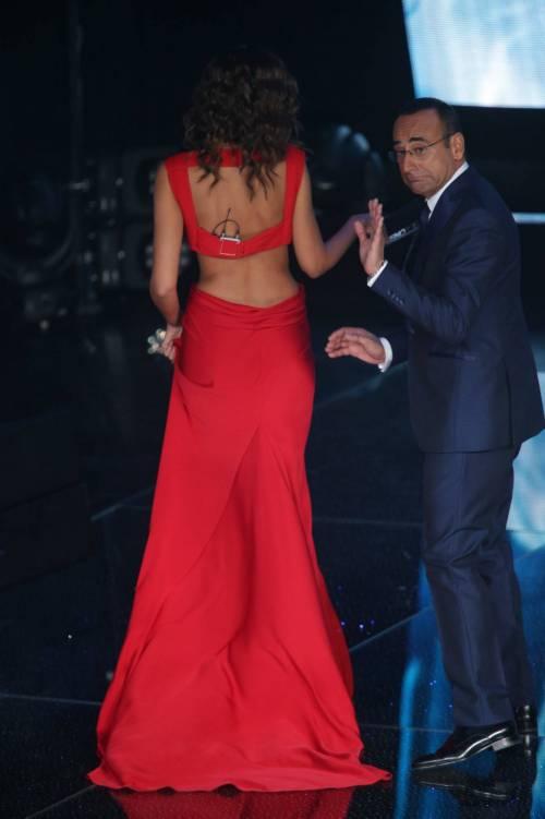 Madalina Ghenea, i sexy abiti a Sanremo 2016 12