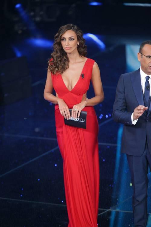 Madalina Ghenea, i sexy abiti a Sanremo 2016 27