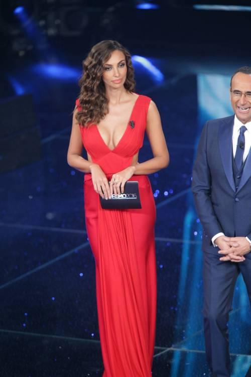Madalina Ghenea, i sexy abiti a Sanremo 2016 28