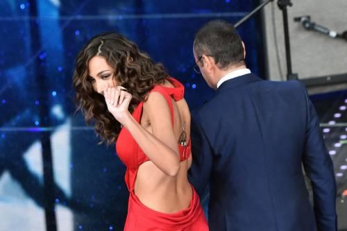 Madalina Ghenea, i sexy abiti a Sanremo 2016 37