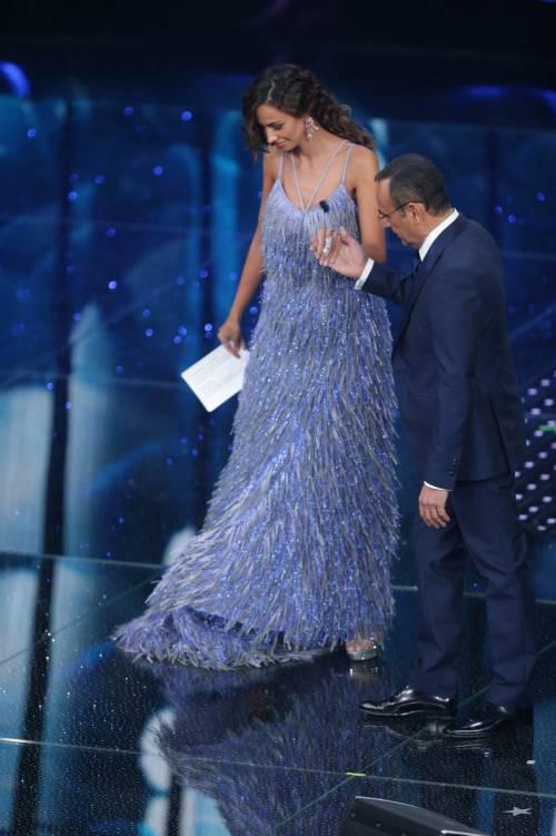 Madalina Ghenea, i sexy abiti a Sanremo 2016 58