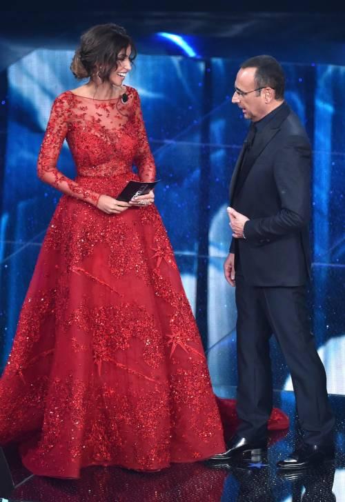 Madalina Ghenea, i sexy abiti a Sanremo 2016 5