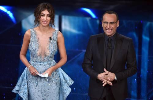 Madalina Ghenea, i sexy abiti a Sanremo 2016 13