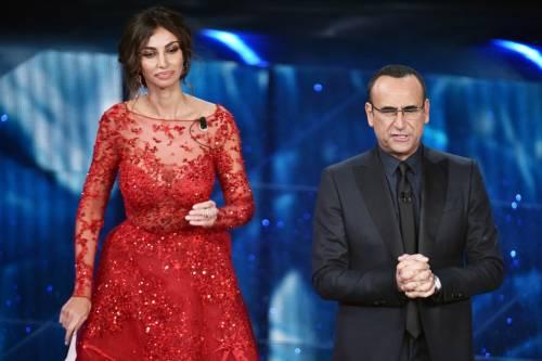 Madalina Ghenea, i sexy abiti a Sanremo 2016 17