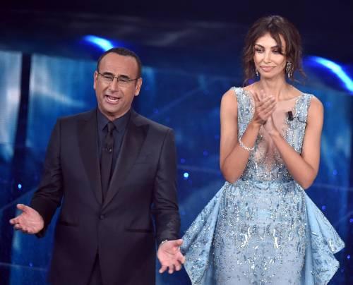 Madalina Ghenea, i sexy abiti a Sanremo 2016 30