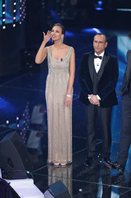 Madalina Ghenea, i sexy abiti a Sanremo 2016 42