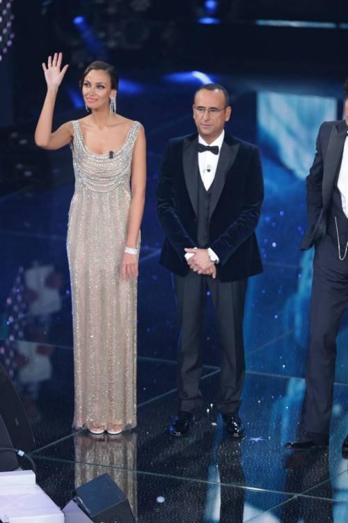 Madalina Ghenea, i sexy abiti a Sanremo 2016 44
