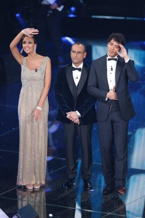 Madalina Ghenea, i sexy abiti a Sanremo 2016 47