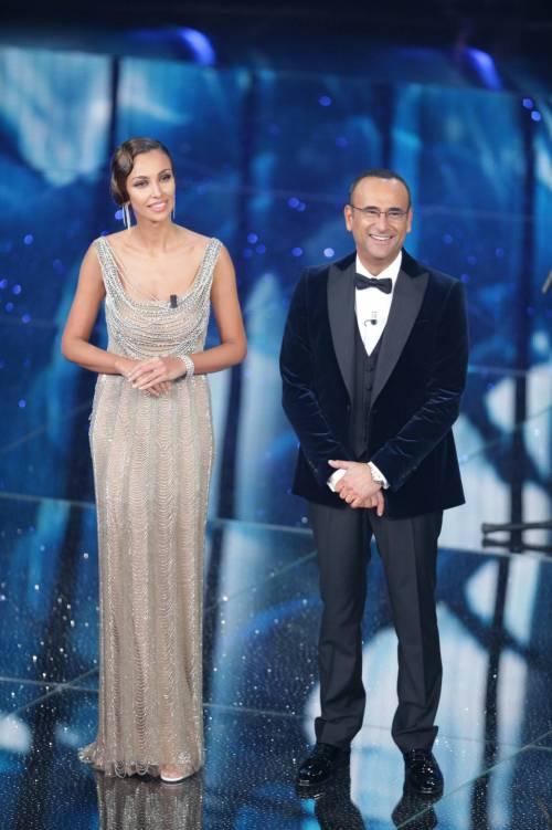 Madalina Ghenea, i sexy abiti a Sanremo 2016 48